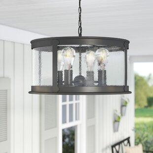 Outdoor hanging lights youll love wayfair calvin 4 light outdoor pendant aloadofball Choice Image