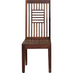 Palindrome Solid Wood Dining Chair (Set o..