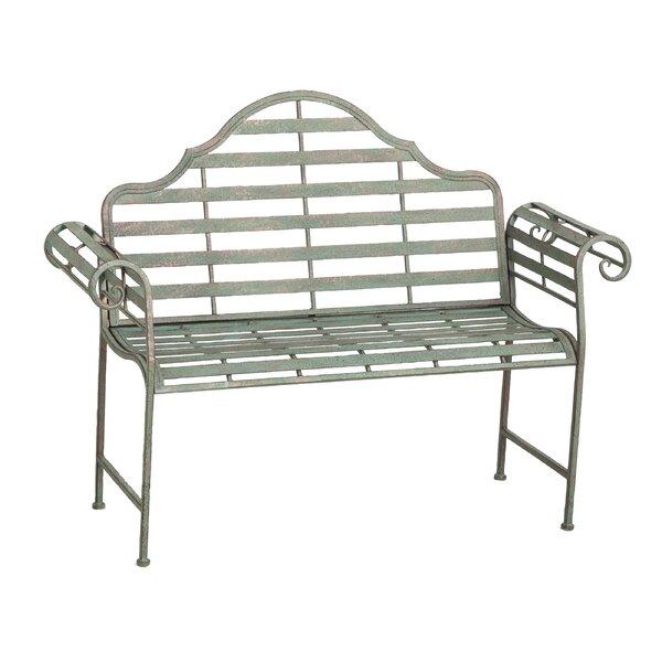 Lark Manor Bescott Chippendale Metal Garden Bench U0026 Reviews   Wayfair