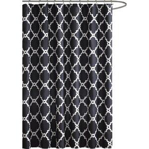 black and tan shower curtain.  Shower Curtains You ll Love Wayfair