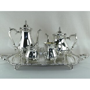 5 Piece Princess Tea/Coffee Set  sc 1 st  Wayfair & Silver Plated Tea Set | Wayfair