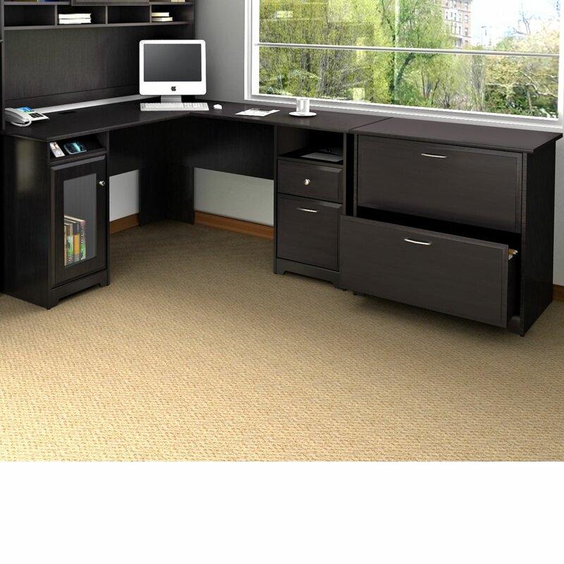 Red Barrel Studio Hillsdale L Shape Executive Desk Office