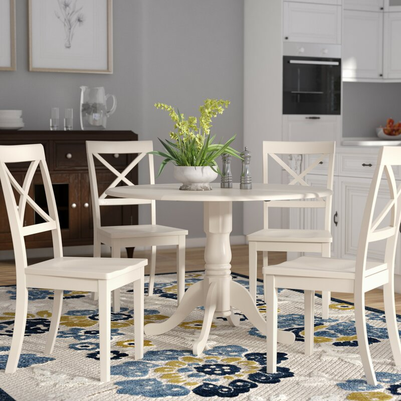 a4d0e40643bef Spruill 5 Piece Drop Leaf Dining Set   Reviews