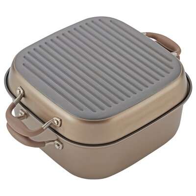 11 Advanced 2-in-1 Non-Stick Grill Pan Anolon