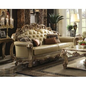 Mccarroll Sofa with 4 Pillow by Astoria Grand