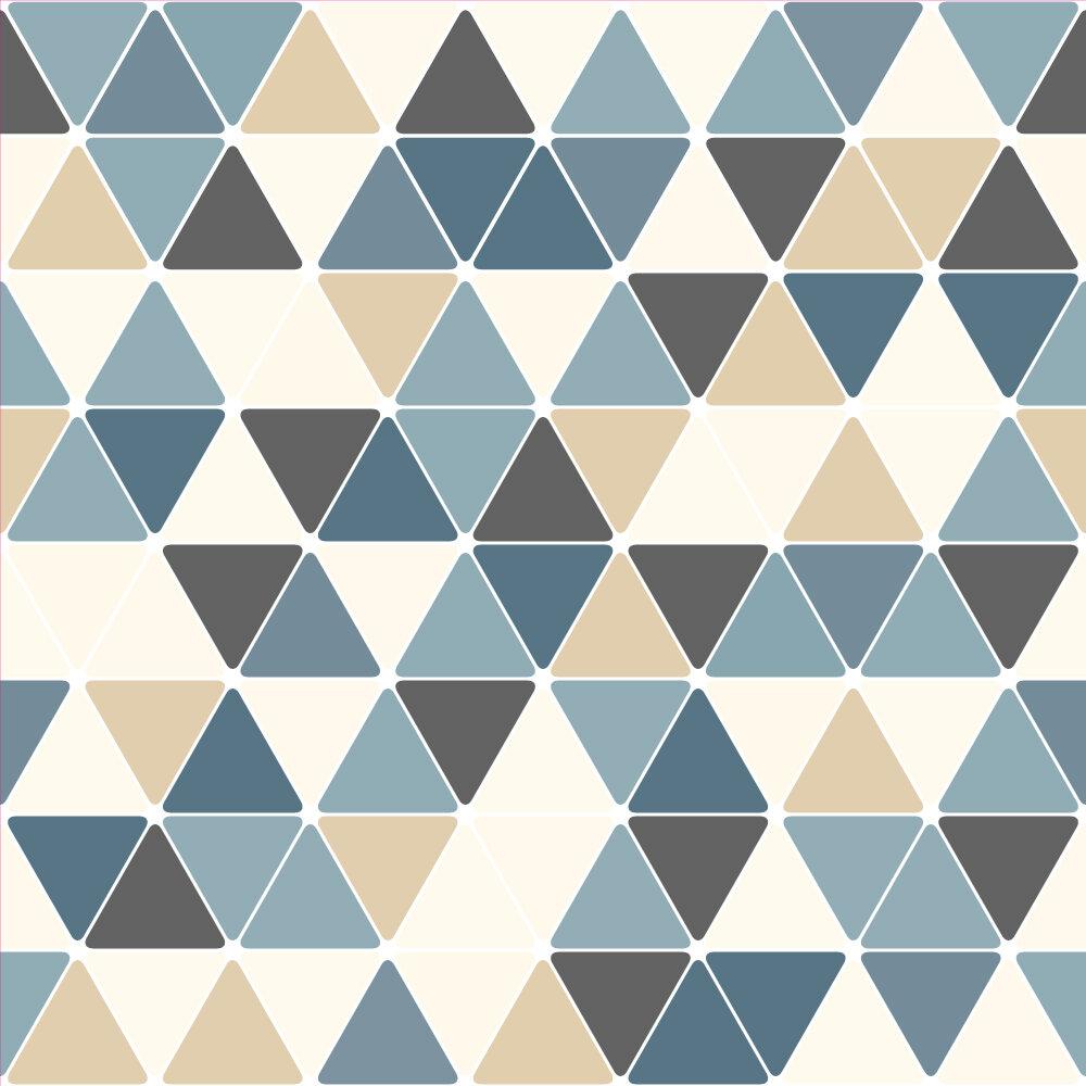 Wallums Wall Decor Triangles 48 L X 24 W And Stick Wallpaper Tile Wayfair