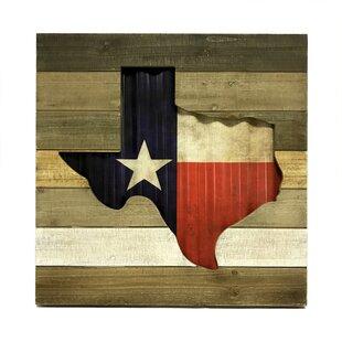 Texas Flag Wall Décor