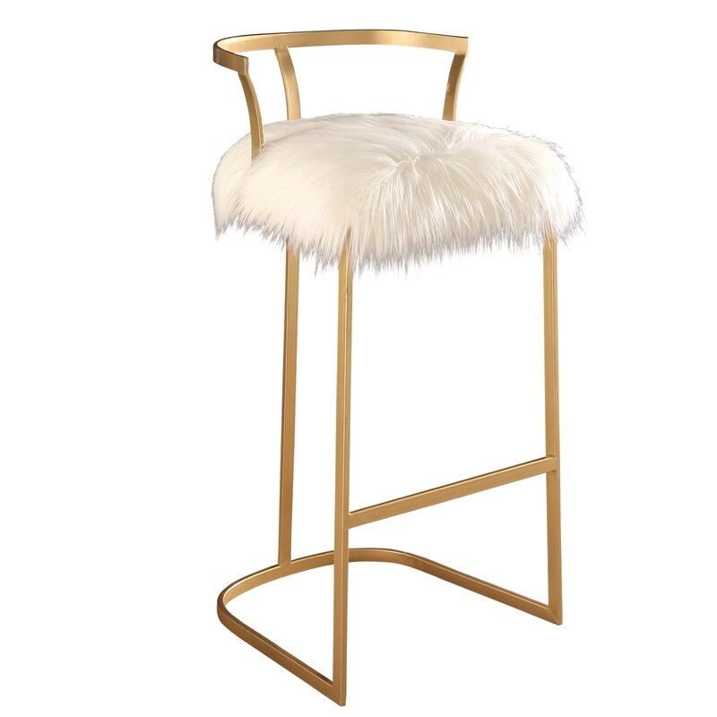 Faux Fur Stool Easy Home Decorating Ideas