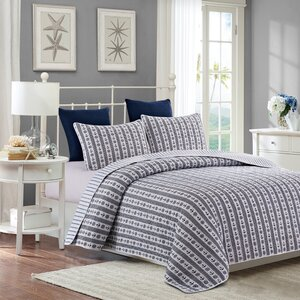 Dahle Anchors Reversible Quilt Set