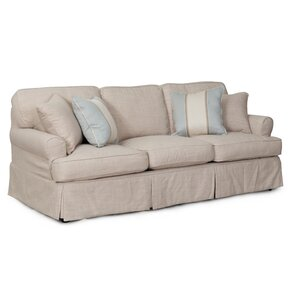 Coral Gables T-Cushion Sofa Slipcover ..