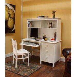 Dakota Writing Desk with Hutch by Epoch Design