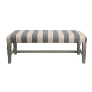 Striped Cocktail Ottoman b..