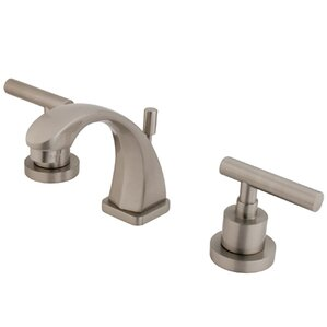 Superb Manhattan Double Handle Widespread Bathroom Faucet With Brass Pop Up