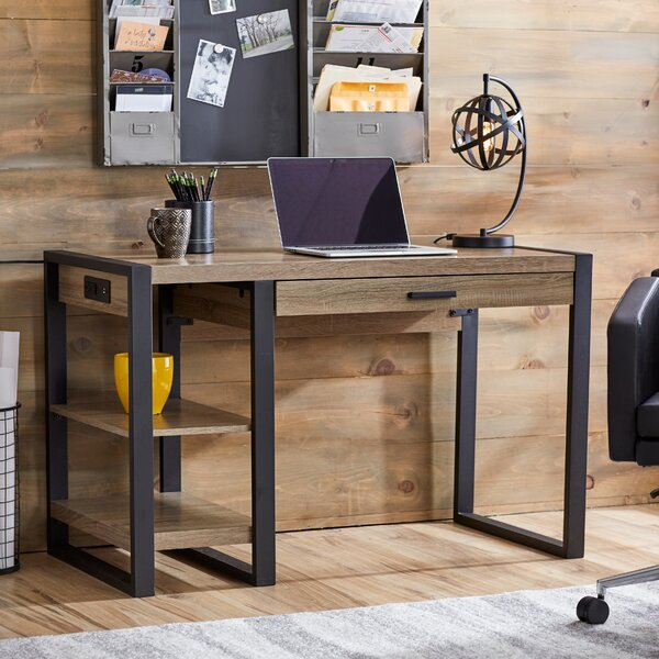 Mercury Row Theodulus 1 Drawer Writing Desk Amp Reviews