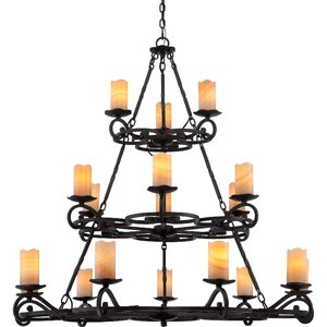 Clarkson 18-Light Candle-Style Chandelier