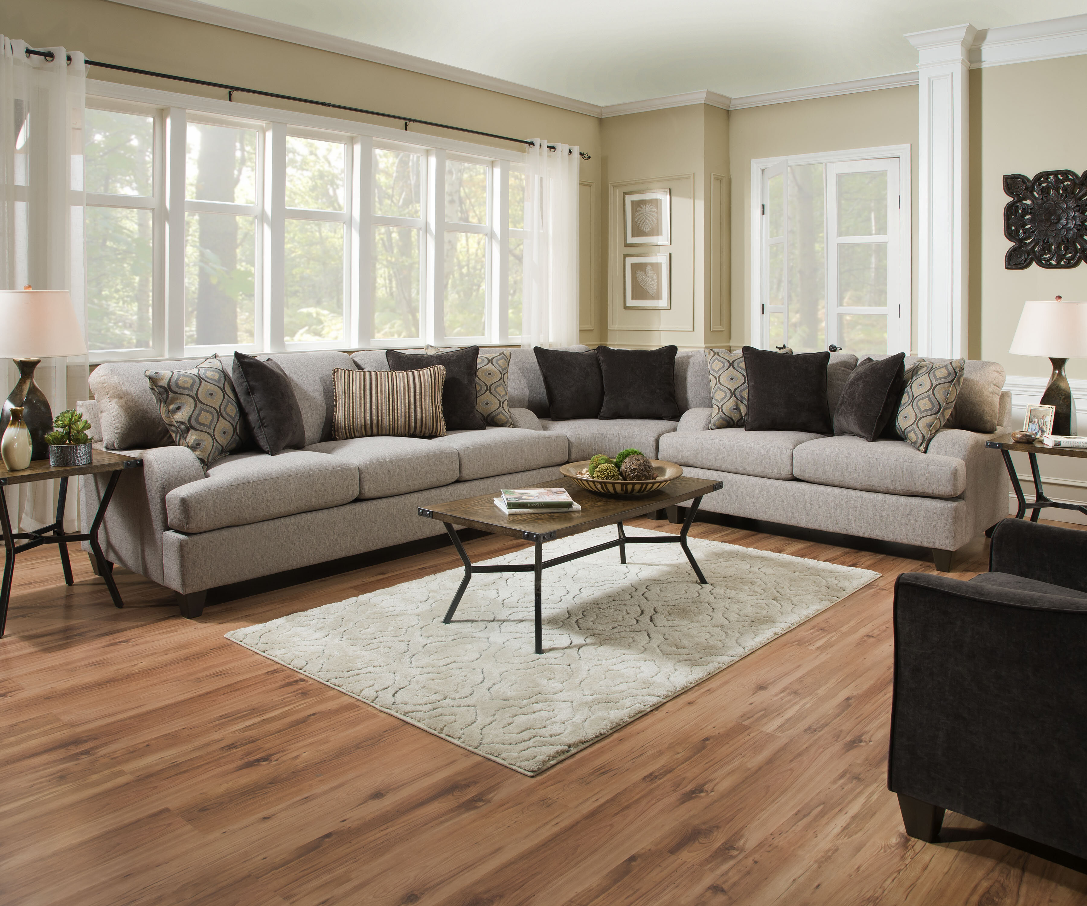 Three Posts Hattiesburg Sterling Reversible Sectional & Reviews - Wayfair