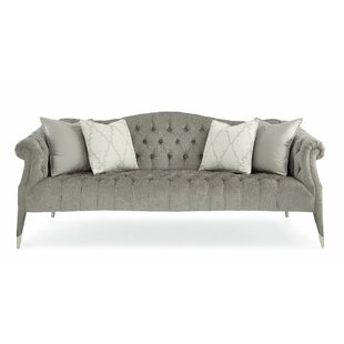 Tufted Camelback Sofa