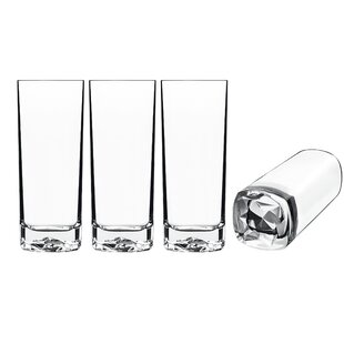 6eace0c1caed On the Rocks 15 Oz. Glass Highball Glasses (Set of 4)