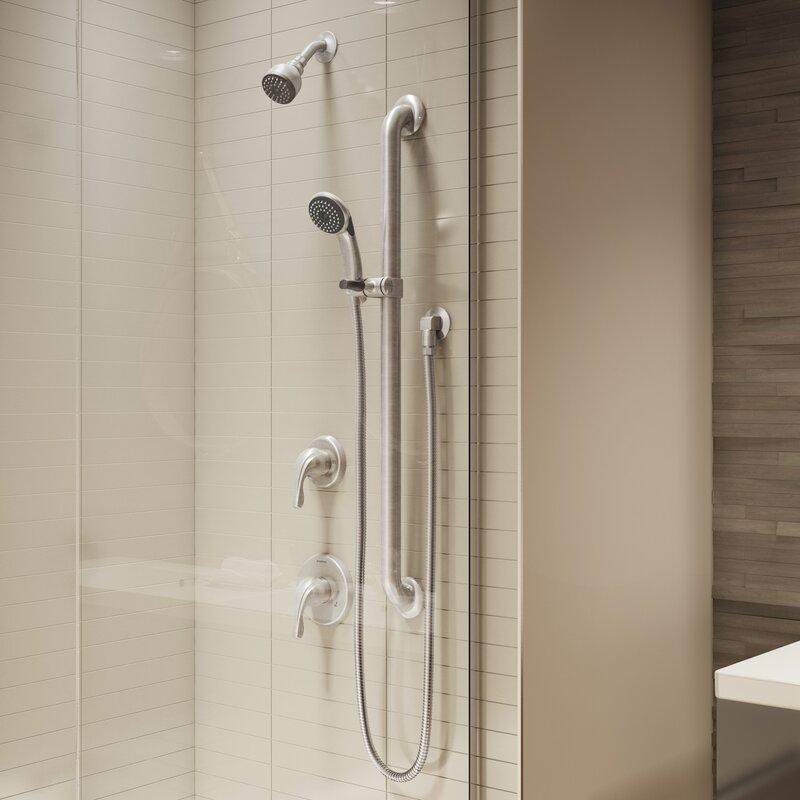 Symmons Origins Handheld Shower Head Complete Shower System ...
