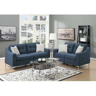 Delicieux Navy Blue Living Room Set | Wayfair