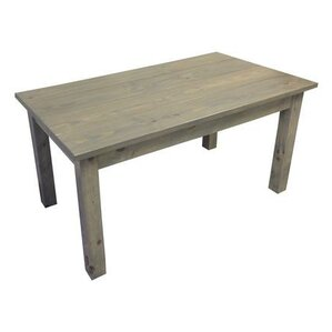 Arrowpoint Wood Dining Table by Bungalow Rose