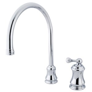 Kingston Brass Restoration Single Handle Widespread Kitchen Faucet