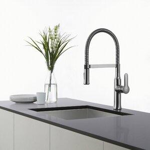 Kraus Nola Single Handle Pull Down Kitchen Faucet
