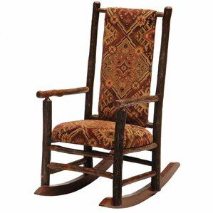 Hickory Rocking Chair by Fireside Lodge