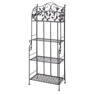 Metal Storage Baker's Rack by ABC Home Collection