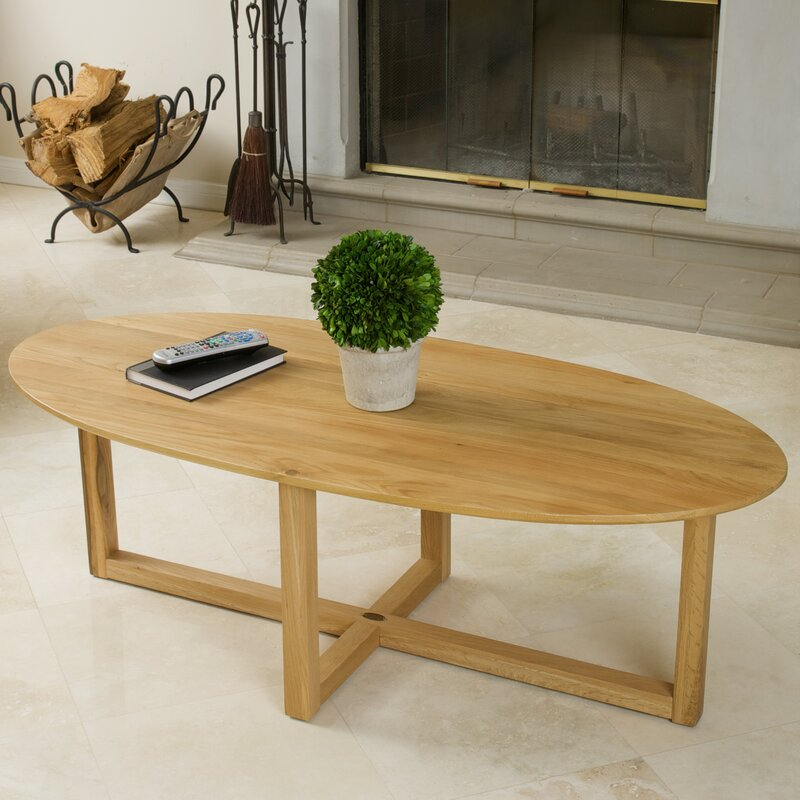 Solid Wood Coffee Table Wayfair: Home Loft Concepts Zeke Coffee Table & Reviews