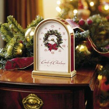 Howard Miller Musical and Chiming Carols of Christmas Holiday ...
