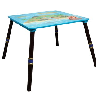 Pirate Island Childrens Square Table by Fantasy Fields Teamson
