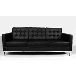 Draper Leather Sofa by Stilnovo