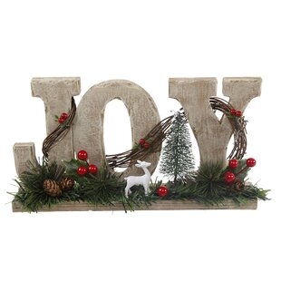 12 Joy Sign By The Holiday Aisle