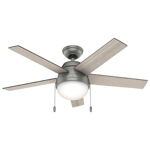 Ceiling Fan With Bright Light | Wayfair