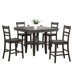 Middlebury 5 Piece Pub Table Set