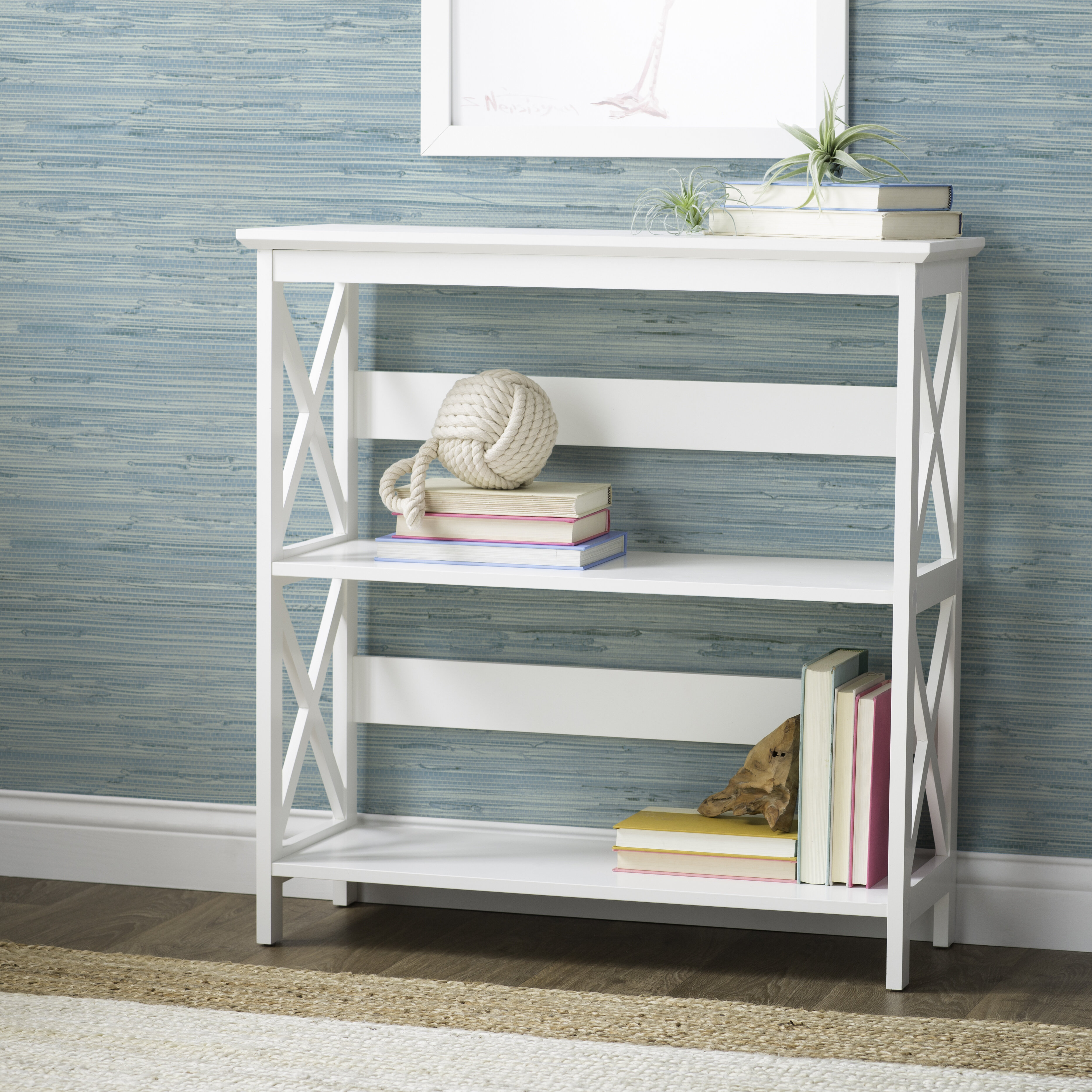Beachcrest Home Stoneford Etagere Bookcase Reviews