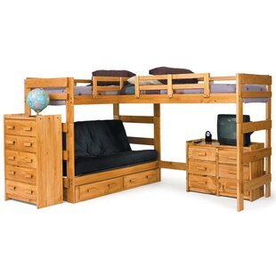 L Shaped Bunk Bed Configurable Bedroom Set