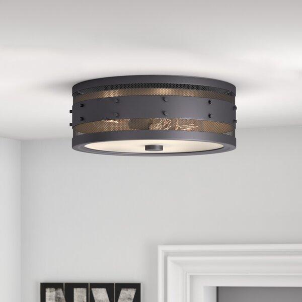 Trent Austin Design Denver 3 Light Flush Mount Amp Reviews