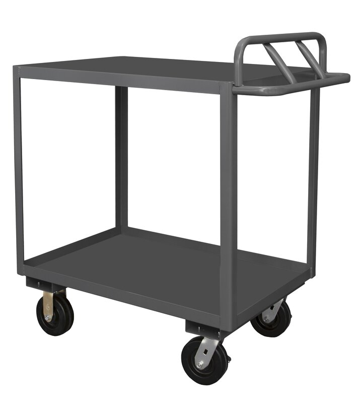Factory Utility Cart: Durham Manufacturing Stock Utility Cart With Ergonomic