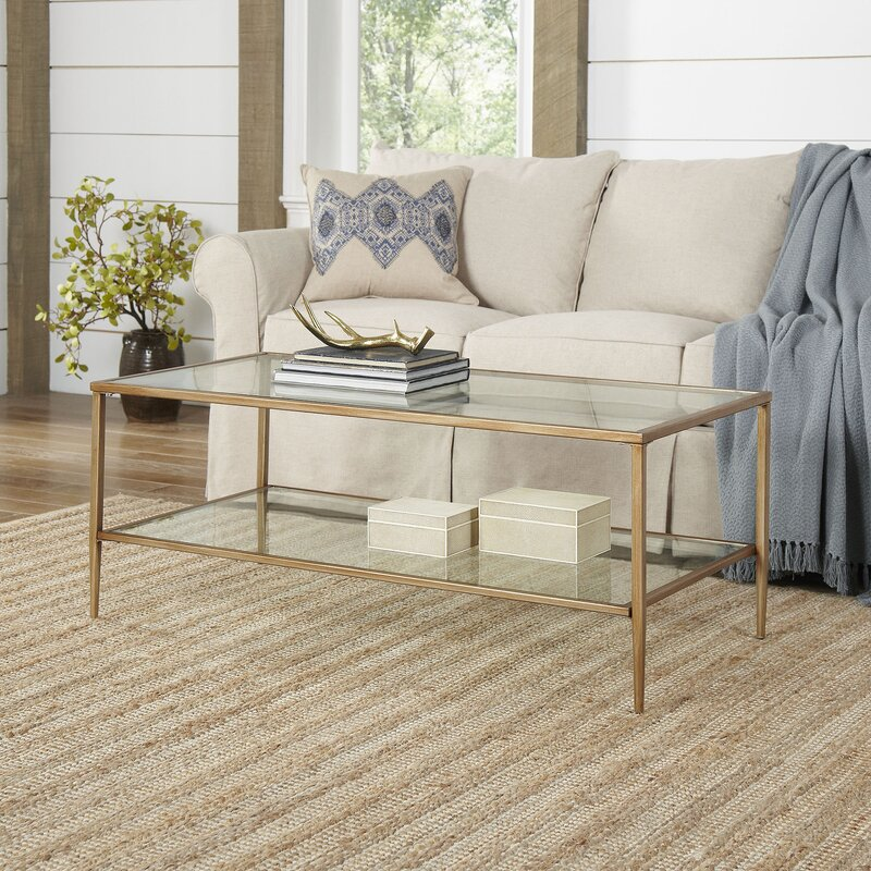 Birch Lane™ Nash Double Shelf Coffee Table & Reviews | Wayfair