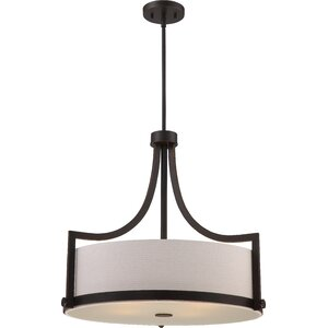 Bullen 4-Light Drum Pendant