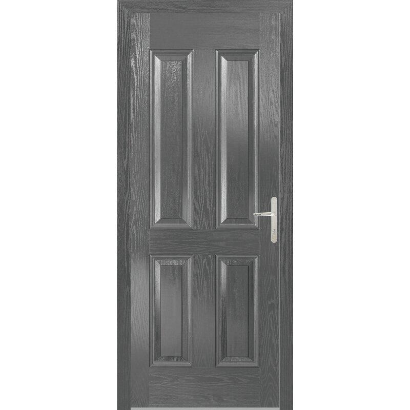 Lpd Doors Carsington 4 Panel Front Entry Door Wayfair