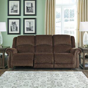 Mcdowell Reclining Sofa by Red Barrel ..