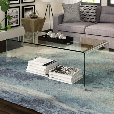Glass Coffee Tables You Ll Love Wayfair