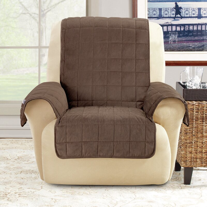 Sure Fit T-Cushion Armchair Slipcover | Wayfair