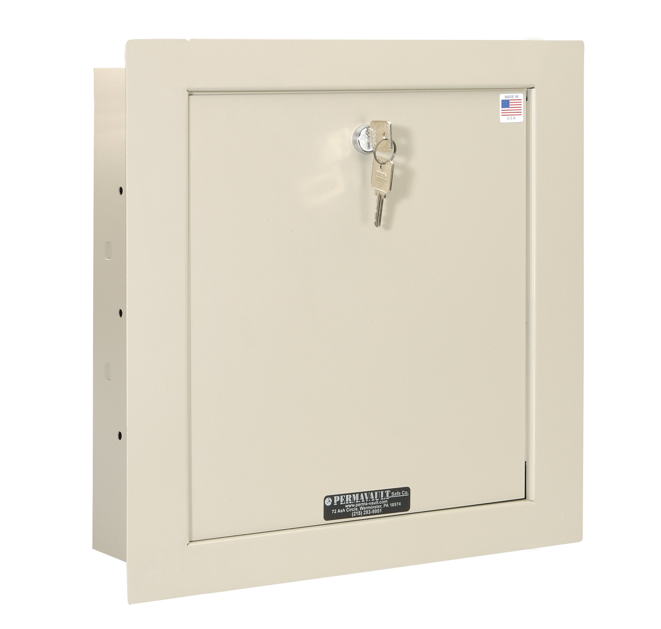 Key Lock Commercial Wall Safe  47 CuFt