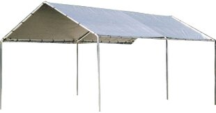 Carports, Car Shelters & Portable Garages You'll | Wayfair on basement bedroom ideas, carport kits, car port design ideas, small screen porch decorating ideas, carport plans product, garage lighting ideas, carport designs, wooden ceilings ideas, garage wall material ideas, outdoor room ideas, garage insulation ideas, garage shelving ideas,
