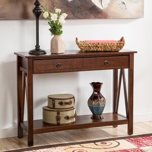 wilda drawer console table - Skinny Console Table