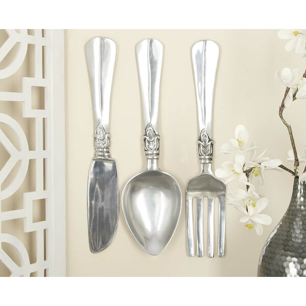 Alcott Hill Utensil 3 Piece Wall Décor Set U0026 Reviews | Wayfair